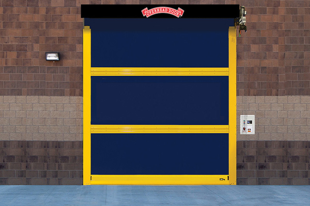 High Speed Fabric Doors